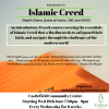 Essential Muslim Belief (Islamic Creed)